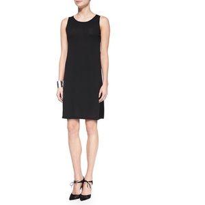 Eileen Fisher Wool Layering Dress Size Large Black